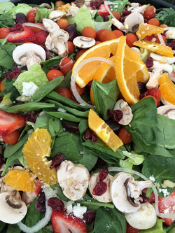 Delicious seasonal salads