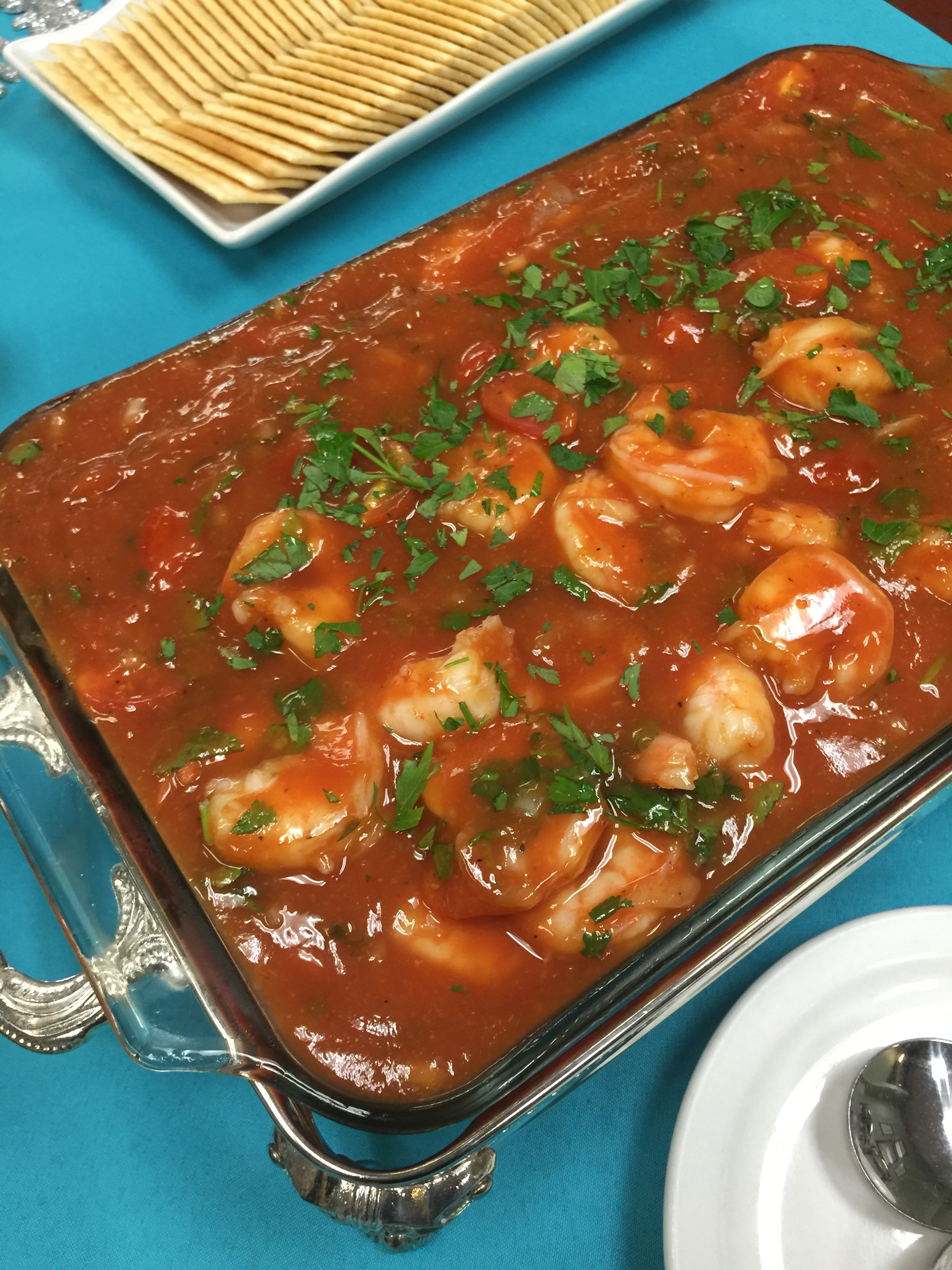 Shrimp in Cocktail Sauce