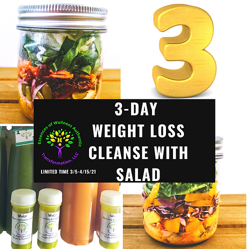 3- Day Weight Loss Detox with Salad