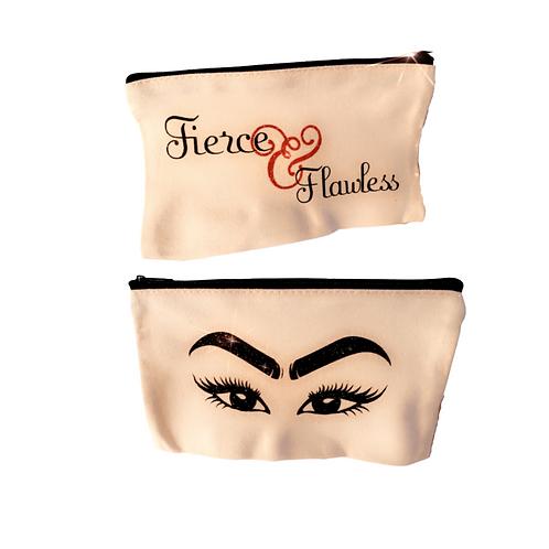 Make Up Bag Eyes/Fierce & Flawless