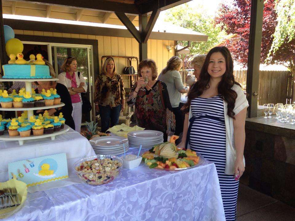 Rachel McKowen's baby shower