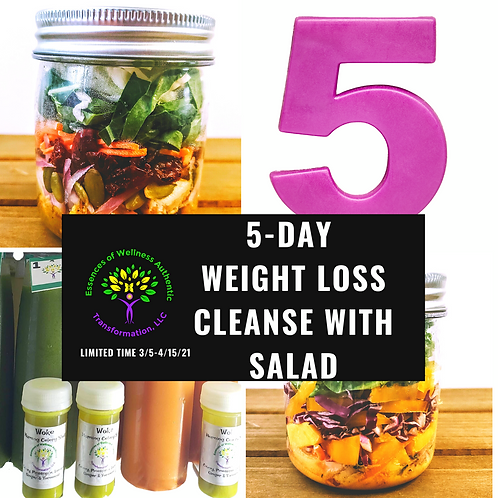 5- Day Weight Loss Detox with Salad
