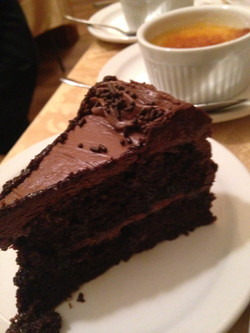 Try chocolate cake or creme brulee