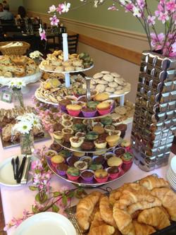 Wonderful dessert array