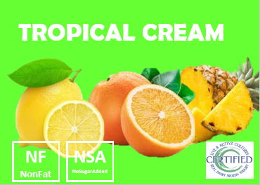 tropical cream