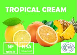 tropical cream