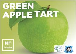green apple tart