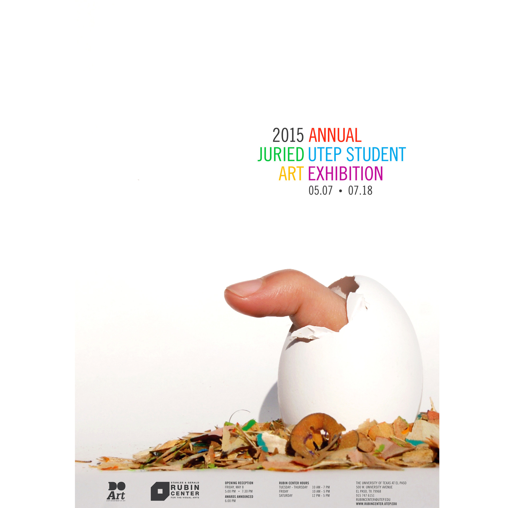 2015 Annual Student Art Exhibition Poster