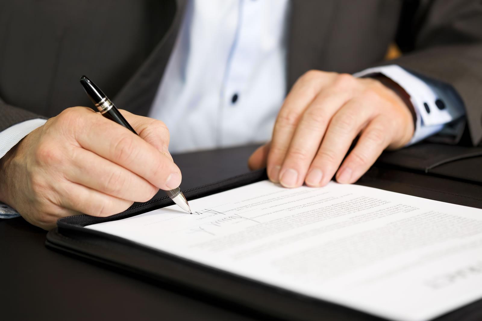 заключение договоров юрист