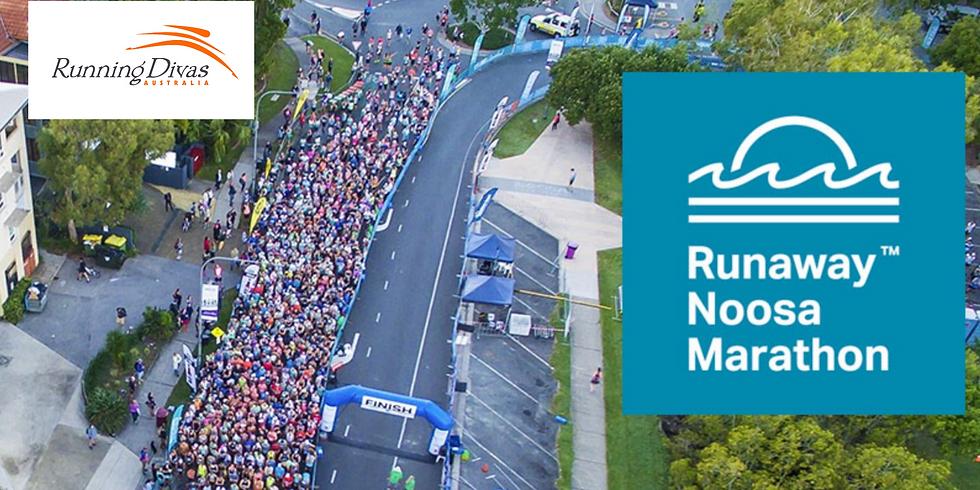 Runaway Noosa Marathon - Running Divas Team