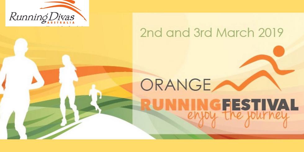 Orange Running Festival - Running Divas Team