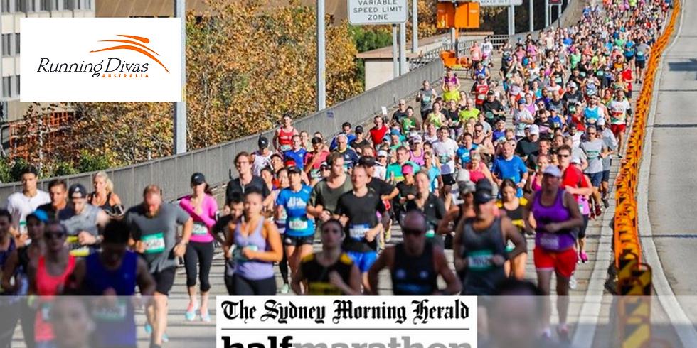 Sydney Morning Herald Half Marathon - Running Divas Team