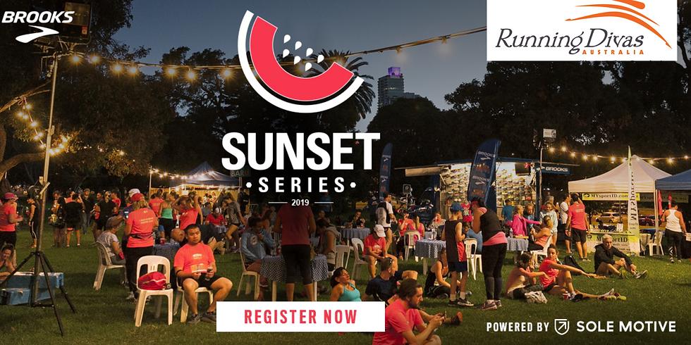 Sunset Series: The Tan - Running Divas Team
