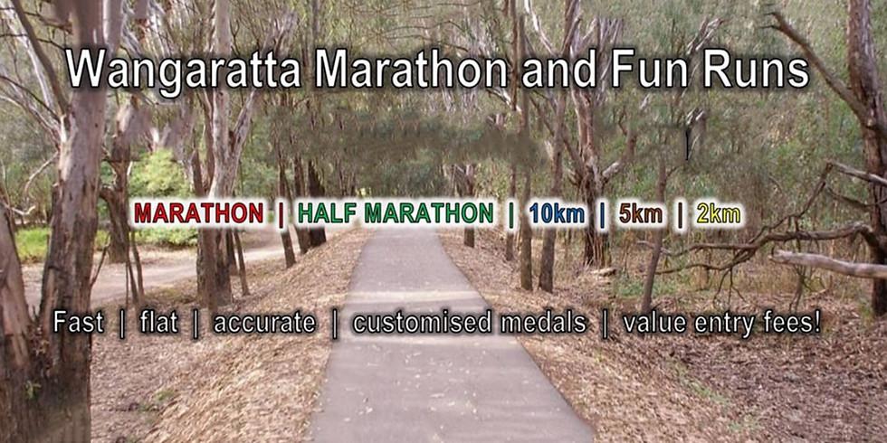 Wangaratta Marathon and Fun Runs - Running Divas Team