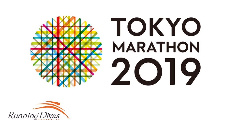 Tokyo Marathon - Running Divas Team
