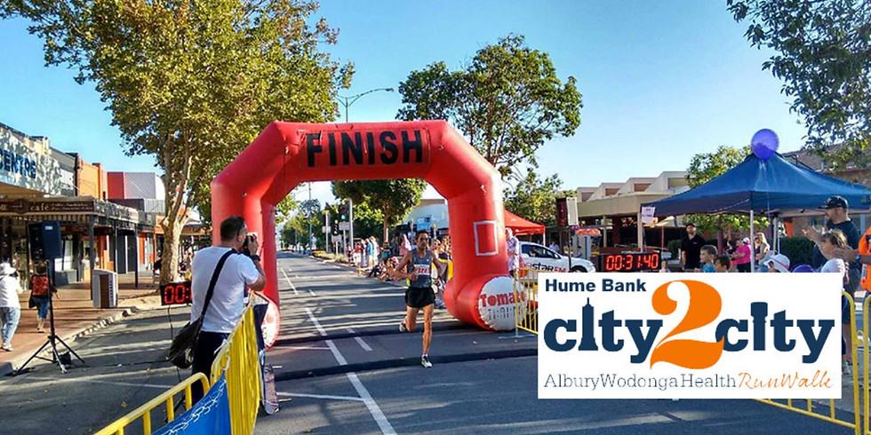 Hume Bank City2City Run Walk - Running Divas Team