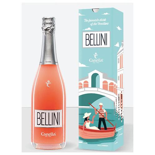 Canella Bellini Cocktail  750 ml v dárkovém balení (bílá broskev)