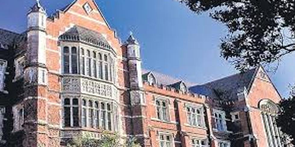 Victoria University visit