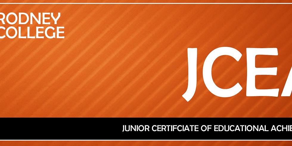 JCEA Junior Exams