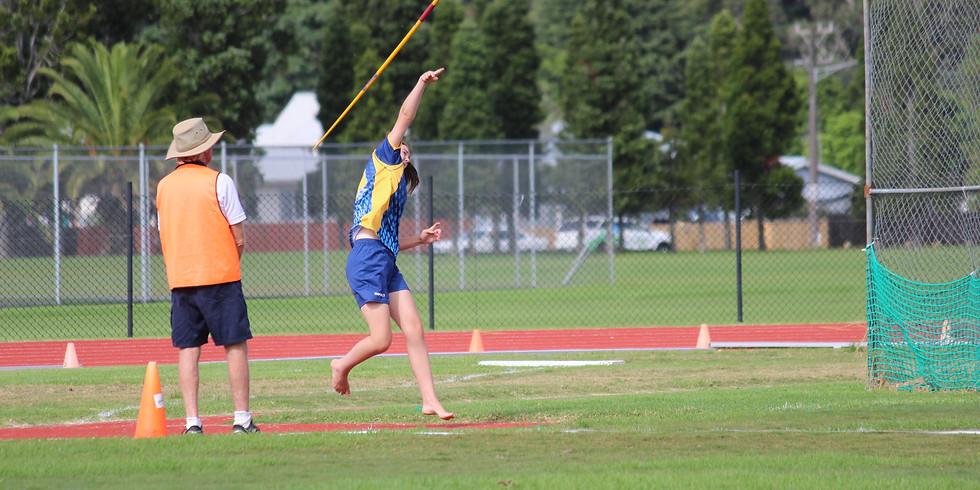 Girls Javelin - athletics - lunchtime