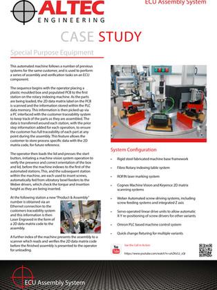 ECU Assembly System