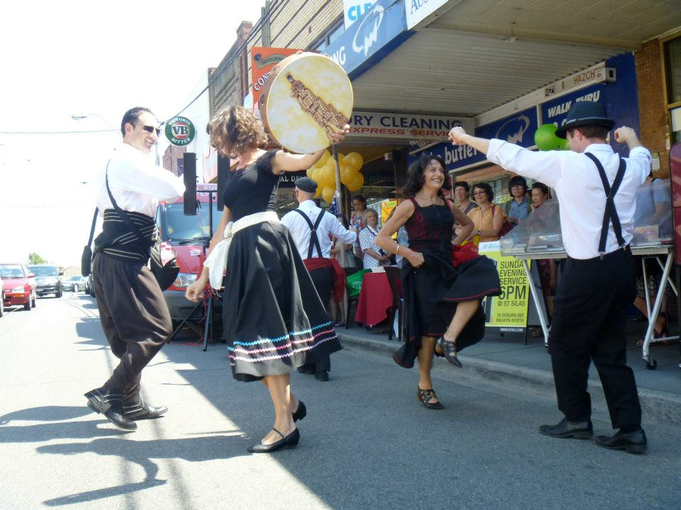 street festival Tarantella dance com