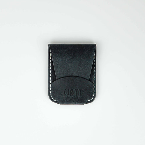 010 - Vertical Card Holder in Pueblo Navy - Stacked logo