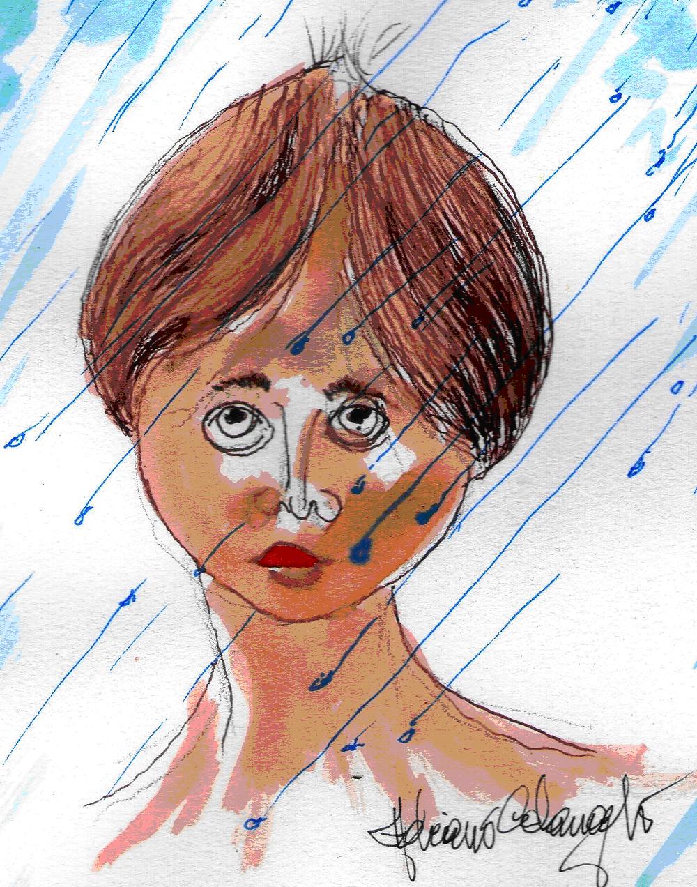 A doce mocinha da chuva