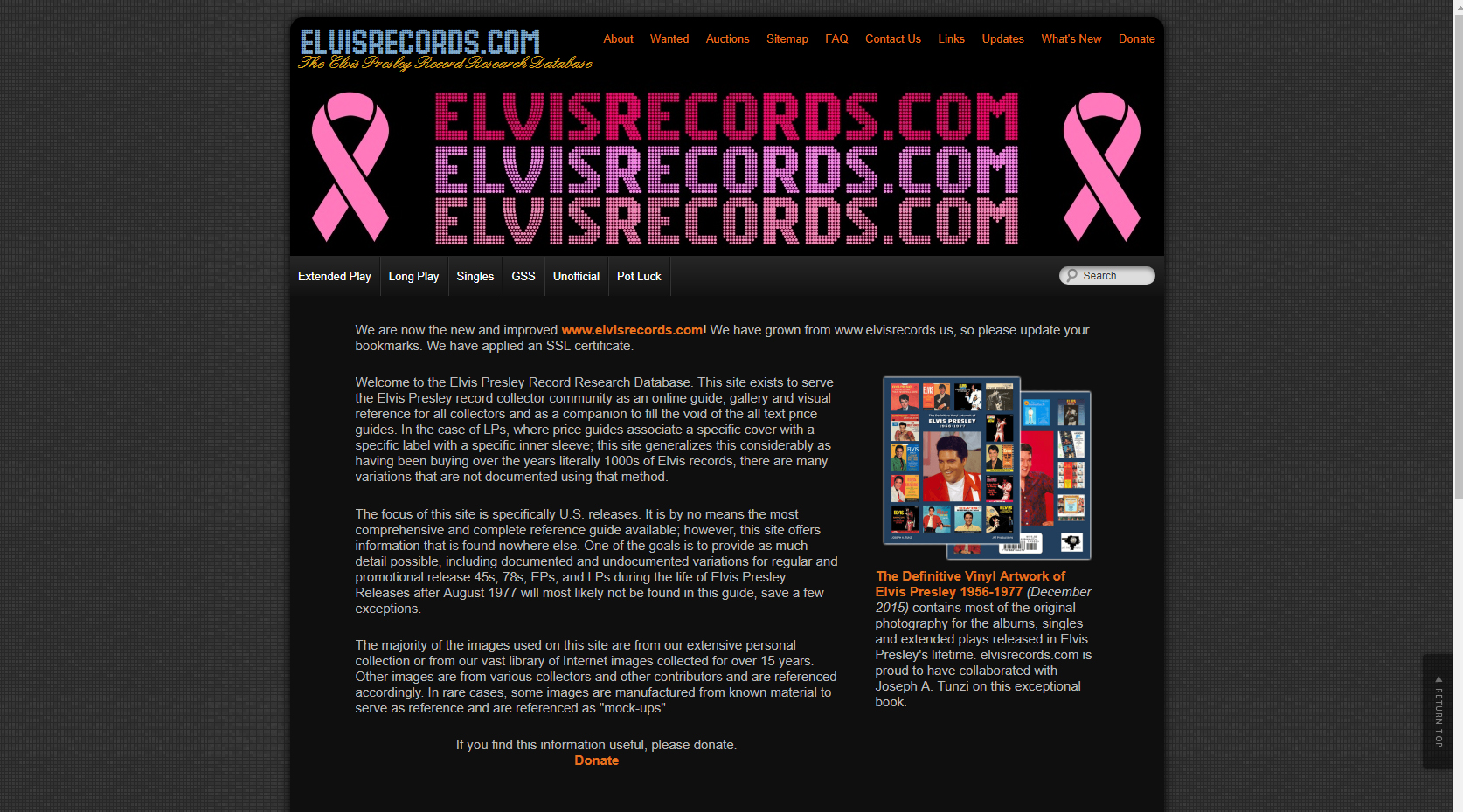 Elvis Records.COM