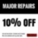 10% off major repairs coupon