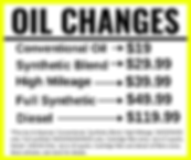 Oil Change Coupon, Longwood, Florida