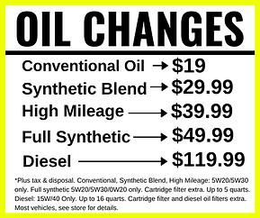 Oil Change Coupon, Longwood, Florida