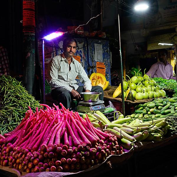 Night Market - New Delhi - India