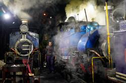 Le train à vapeur de Darjeeling