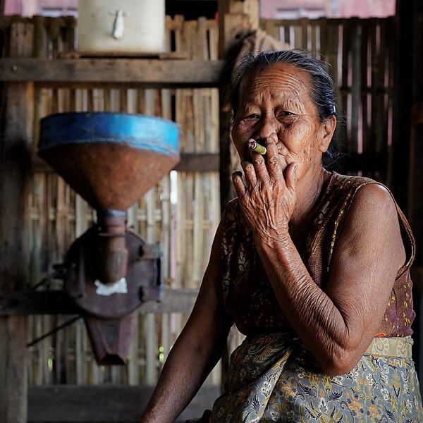 The small food fabrics of Kaung Daing - Myanmar