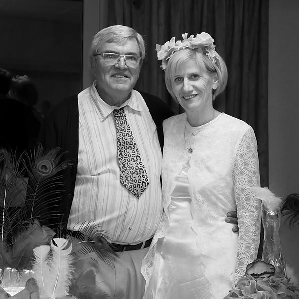 45 ans mariage + 70 ans de Mémé