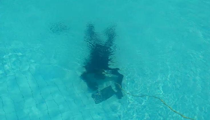 Conserto de vazamento sem esvaziar piscina