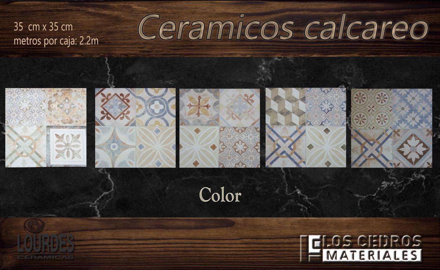 ceramicos calcareo