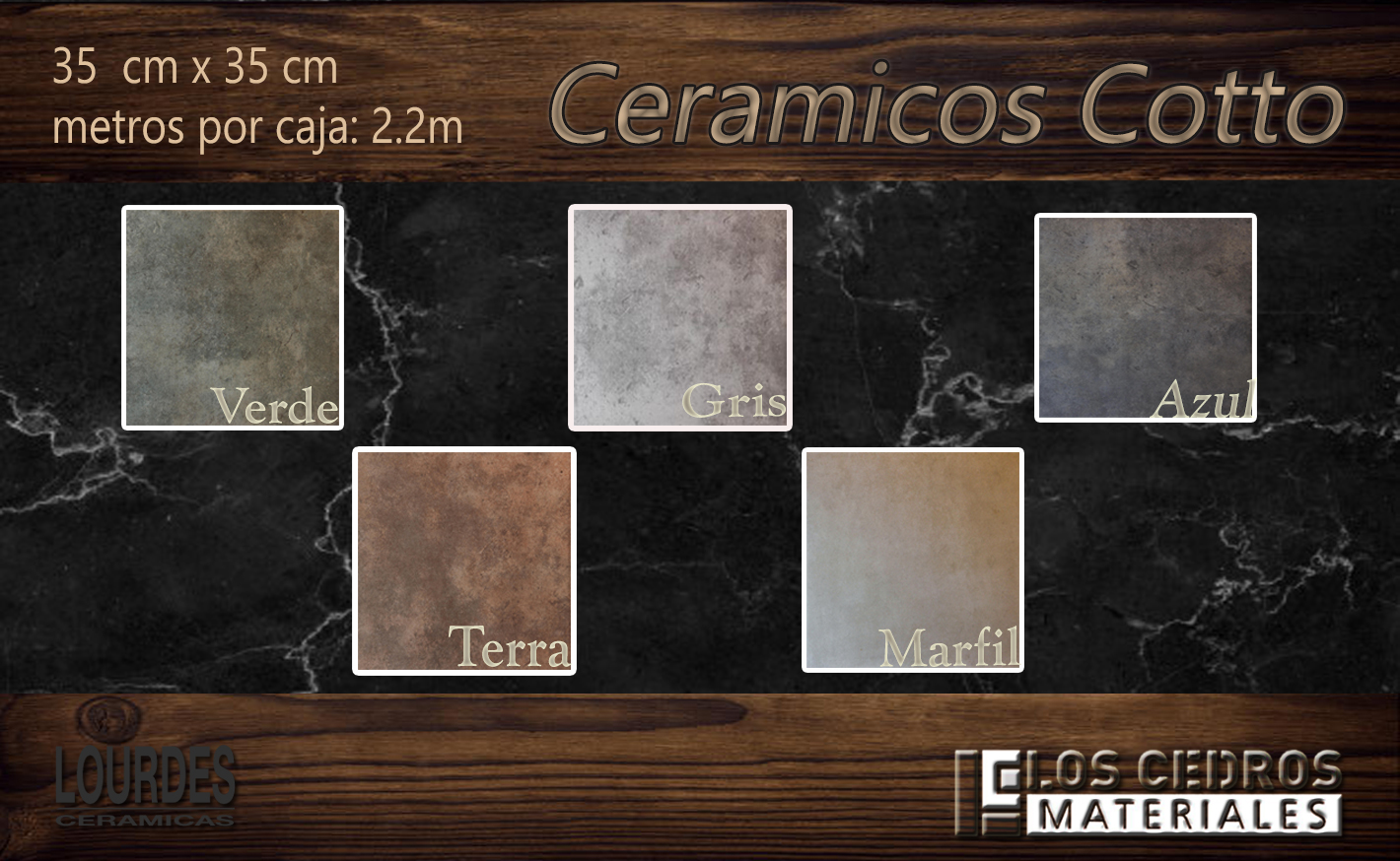 ceramicos cotto