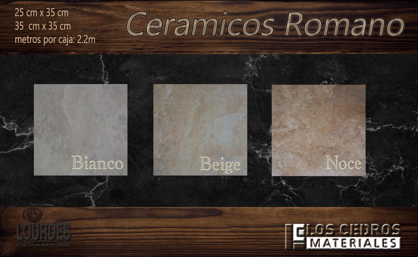 ceramicos romano