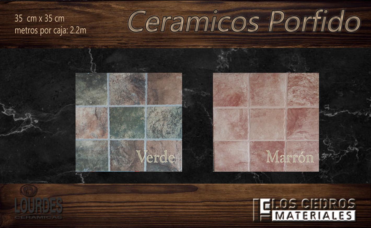 ceramicos porfido