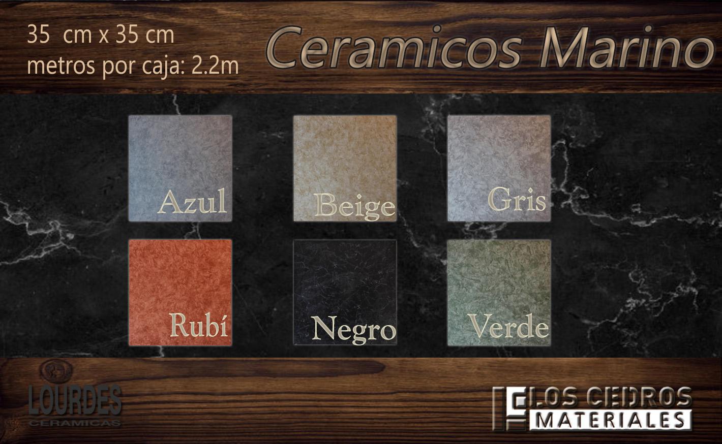 ceramicos marino