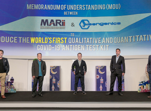 MARii and Sengenics ink MoU to develop ImmuSAFE™, a qualitative and quantitative COVID-19 test kit