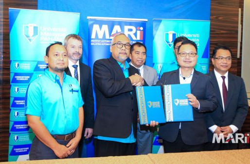 MARii and UMP inked MoU to expand technology expertise through new academic programmes