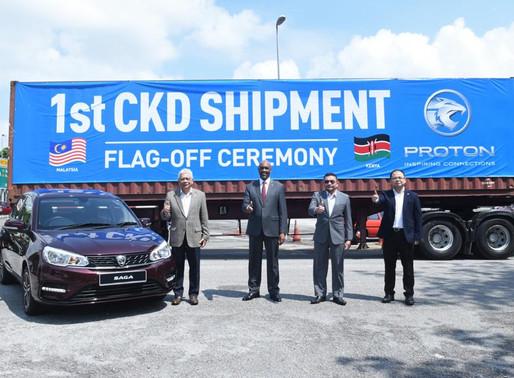 PROTON enters Kenyan market, exporting 30 units of Proton Saga