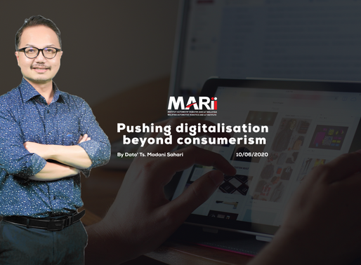 Pushing digitalisation beyond consumerism
