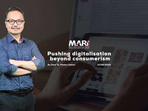 Pushing digitalisation beyond consumerism