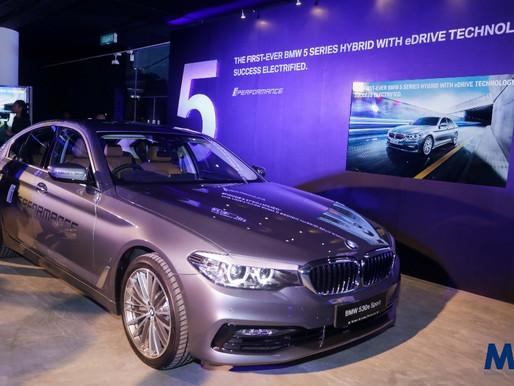 EEV terbaru BMW, model 530e Sport Hybrid pertama dengan teknologi eDrive.