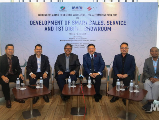 MARii, Perodua and Arus Jaya Collaborate on Smart Sales, Service and the Development of First Digita