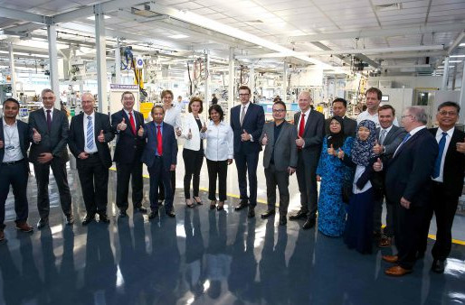 BMW Group Malaysia And Sime Darby Auto Engineering Opens Engine Assembly Facility In Malaysia